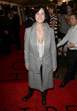 Carrie-Anne Moss at the premiere party of &quot;The Jane Austen Book Club&quot; during the Toronto International Film Festival.